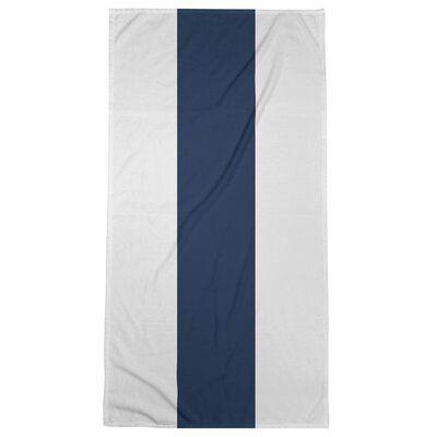 East Urban Home Dallas Football Stripes Beach Towel Poly Cotton