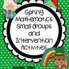 Do you need math games and activities to use with small groups of students? This packet has many games that can be differentiated and are aligned w...