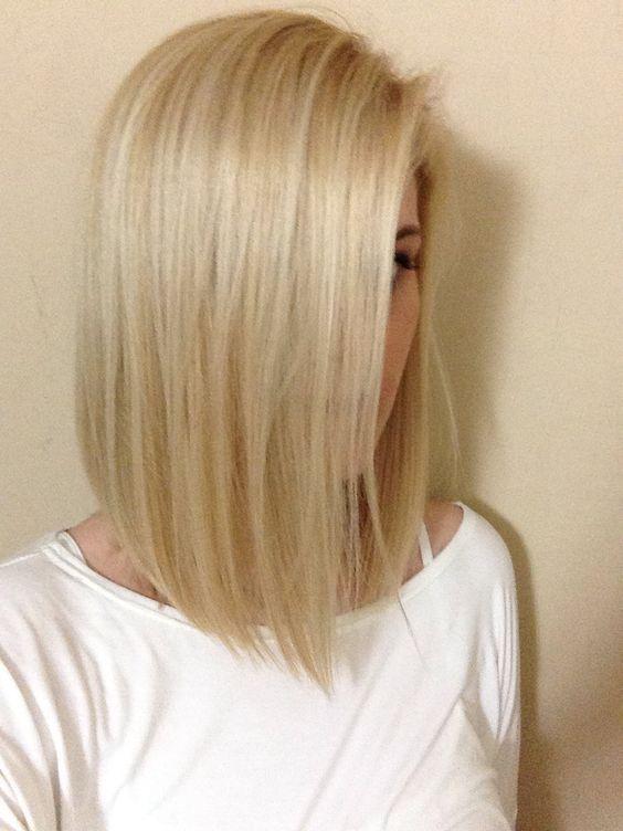 Cheveux fins coupe mi long