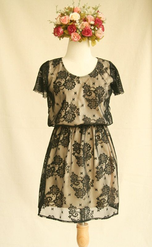 Obsessed with lace as of late. This dress is just lovely!