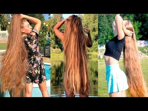 Girls With Longest Hair In The World Best Real Life Rapunzels