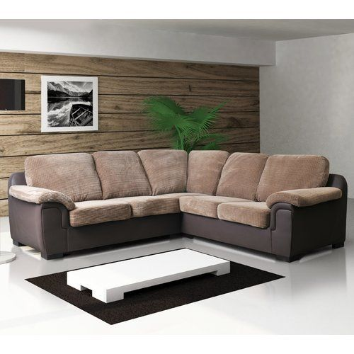 Amy Corner Sofa Bel Etage Colour Brown Brown Corner Sofa Fabric Living Room Sofa Set