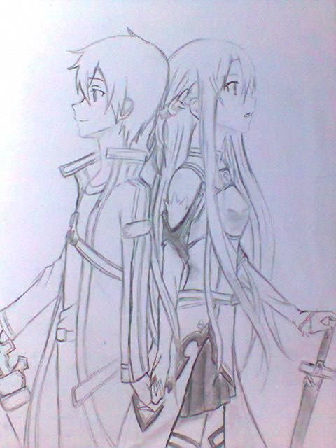 Image Result For Anime Boy And Girl Drawing Boy And Girl Drawing