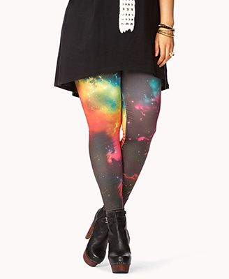 Galaxy Leggings | FOREVER 21 - 2072401011