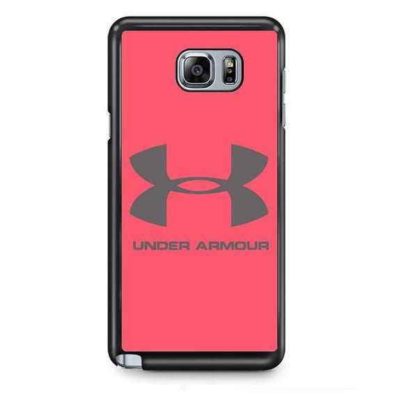 Under Armour Pink TATUM-11537 Samsung Phonecase Cover Samsung Galaxy Note 2 Note 3 Note 4 Note 5 Note Edge