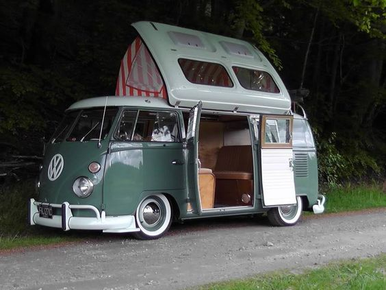 Nicely sorted vintage VW camper