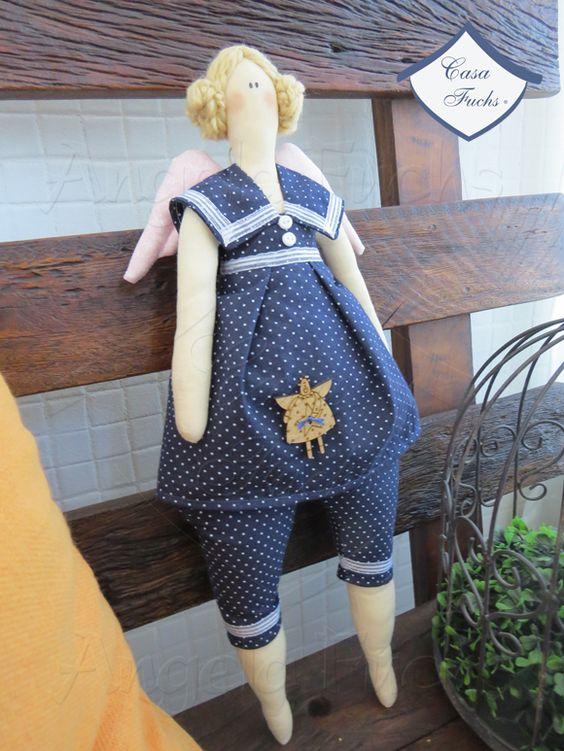Tilda Baden - estas bonecas fazem o maior sucesso! Na lojinha!
