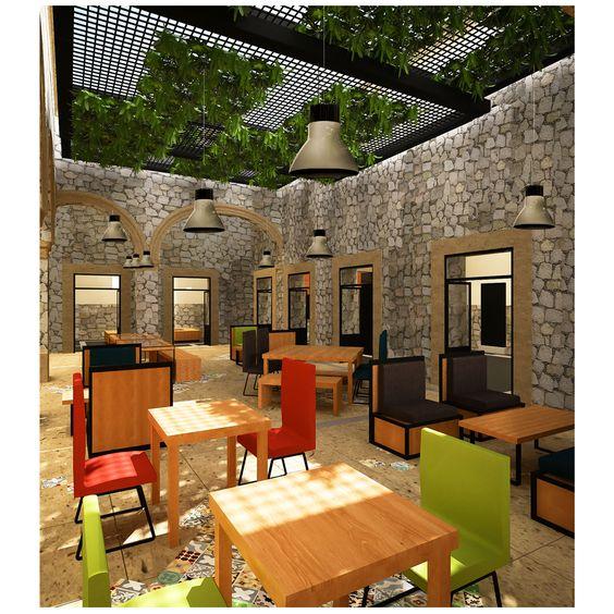 Autor: Daniela Germandia Morena Obra: Casa Saberes Histórico  #Arquitectura #Interior #Render