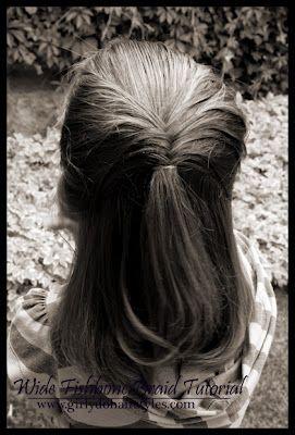 Girly hair do's. Lots of ideas!
