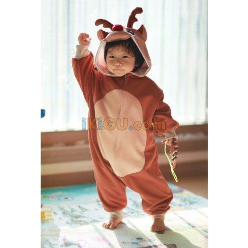 Deer Onesie   Deer Baby Kigurumi   Deer Baby Costume - Baby Onesies  http://www.ikigu.com/deer-baby-kigurumi.html