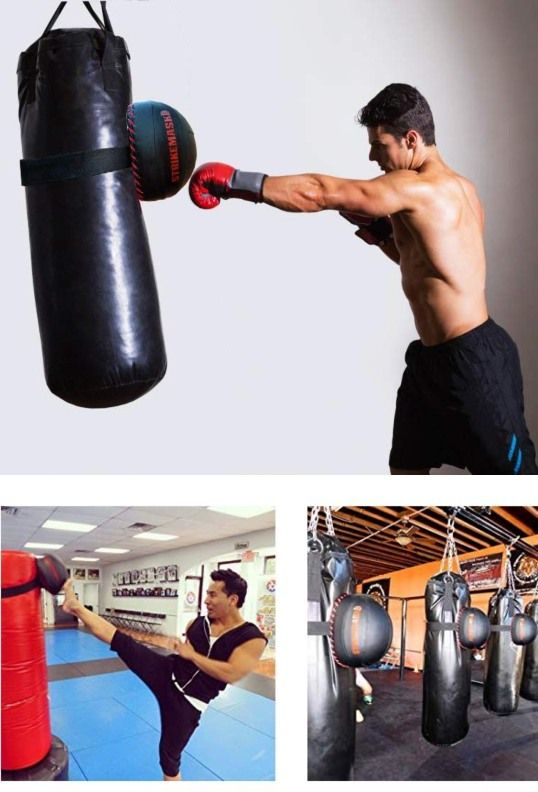 Strikemmask Portable Punching Bag Trainer For Mma Boxing Outdoor Gym Punching Bag At Home Gym