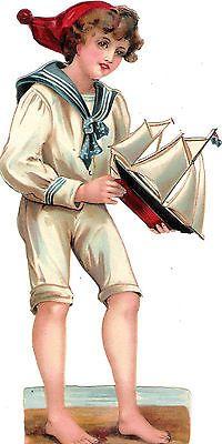 Glanzbilder - Victorian Die Cut - Victorian Scrap - Tube Victorienne - Glansbilleder - Plaatjes : Bube