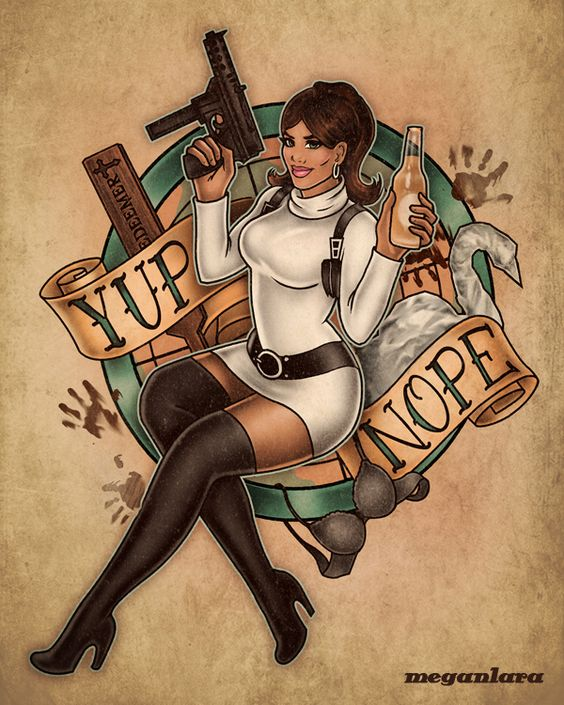 Megan Lara: Fine Art & Illustration - Spray and Pray Lana Lana Lanaaaa!!! Danger Zone! I... - http://meganlara.tumblr.com/post/107990659592/spray-and-pray-lana-lana-lanaaaa-danger-zone-i