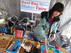 Libraries can host a mini maker faire.
