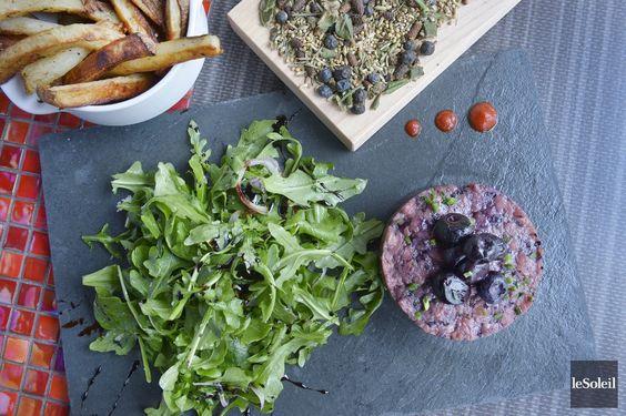 Une recette d'Elsa Bhérer et Bryan Gélinas du restaurant Le Fin Gourmet à Québec