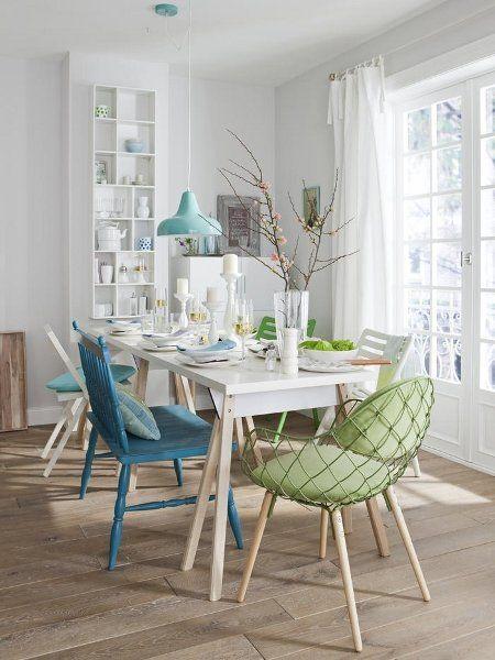 Soft colours salle à manger
