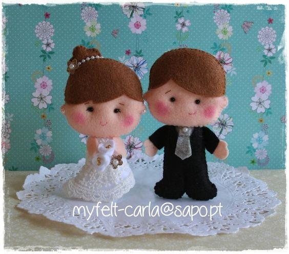 Cake Topper Mariés, Figurines Gâteau Mariage, Couple de figurines personnalisées