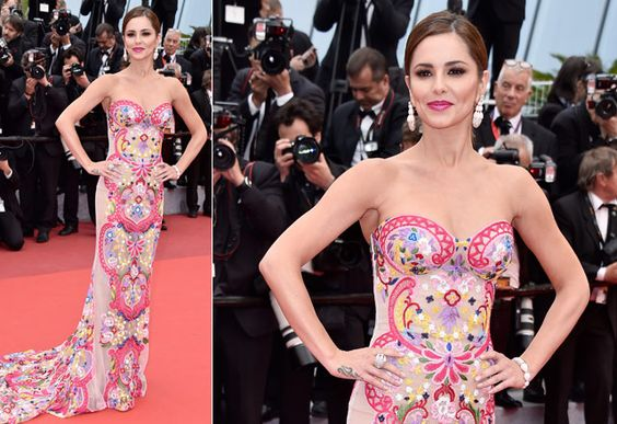 Cheryl Cole de Naeem Khan - Foto: Getty Images
