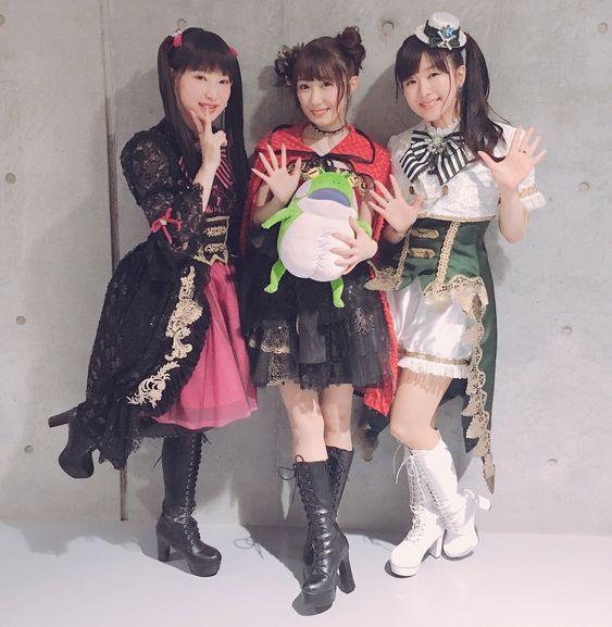茅野愛衣さんと日笠陽子さんと日高里菜さん