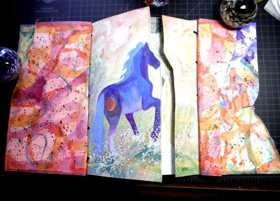 """""""Horses"""" Page Three"""