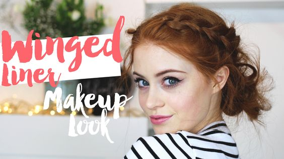 Winged liner Makeup Look | MsRosieBea ad