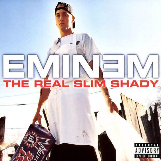 Eminem – The Real Slim Shady (single cover art)