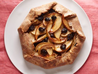 Rustic Apple Pie with Dried Cherries #Fruit #Grains #MyPlate