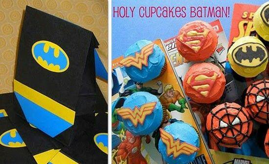 Superheroes Theme Ideas for birthday bash party