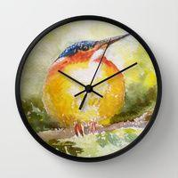 http://society6.com/ashasudhakershenoy/wall-clocks