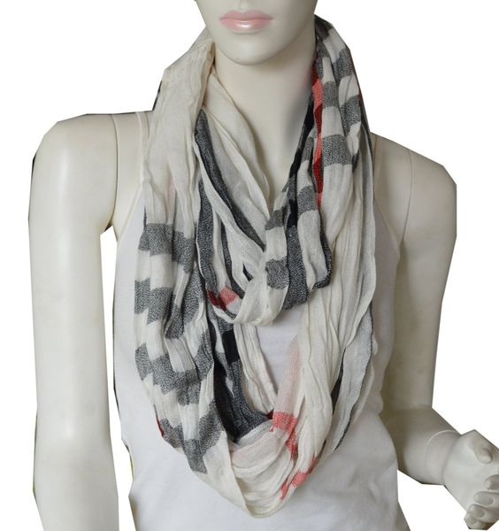 SCARF_TRADINGINC® Elegant Large Light Weight Crinkle Plaid Infinity Scarf  ---  Price : $8.99   ----   Total Reviews : 92 -> http://girlwardrobe.com/?post_type=product&p=2205