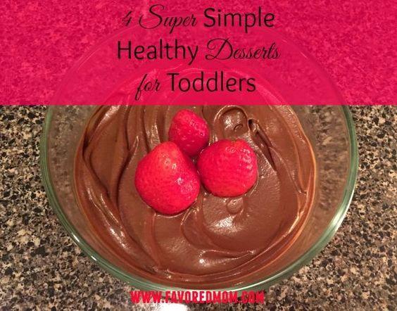 So, here you go... Healthy Desserts for Toddlers that you must check out! Chocolate Sea Salt Pudding may be my favorite of the foursome..