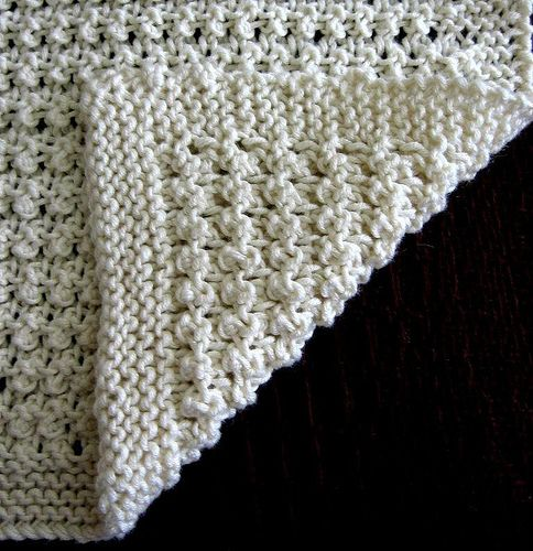Ravelry Free Knitting Patterns For Baby Blankets : Open Work Baby Blanket by Trudi Brown free Ravelry ...