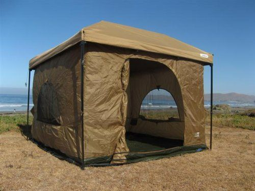 Amazon.com  Standing Room 100 hanging Tent (tan)  Family Tents  Sports u0026 Outdoors | C&ing | Pinterest | Tents and Cabin tent : standing room 100 hanging tent - memphite.com