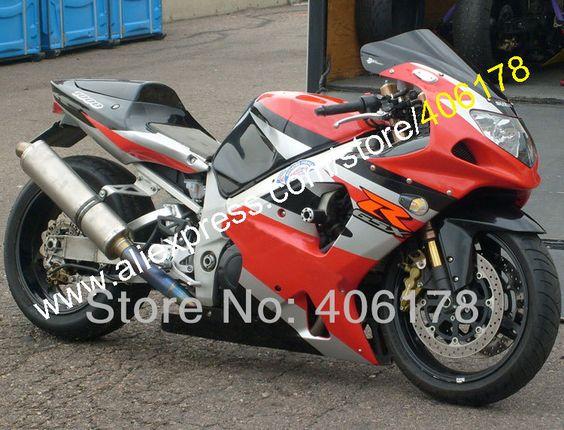 Hot Sales 2000 2001 2002 For Suzuki Gsxr1000 Gsx R1000 K2 00 01 02 Gsxr 1000 R1000 Red Moto Fairings Kit Injection Molding Suzuki Gsxr1000 Suzuki Gsxr 1000