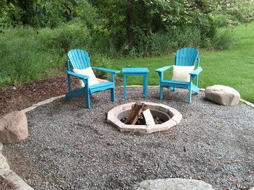 Delightful Gravel Patio Ideas | Crushed Rock Patio Design Ideas, Pictures, Remodel,  And Decor