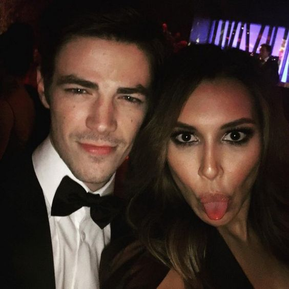 """Pin for Later: Les Meilleurs Instagrams des Golden Globes Naya Rivera """"When you find the flash...#goldenglobes"""""""