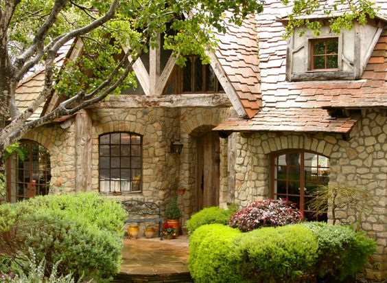Storybook House Went Into Stone House Built In 1990 The
