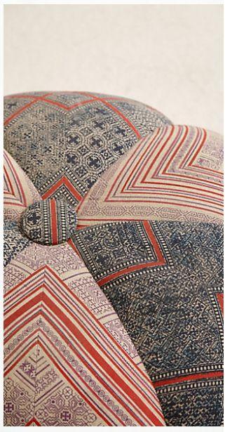 Hand woven sawan pouf (detail). http://www.anthropologie.com/anthro/index.jsp