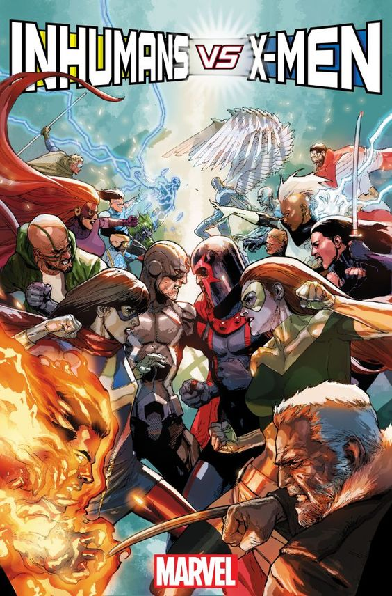 Inhumans vs X-Men. Why does everyone have some sort of beef with the X-Men?