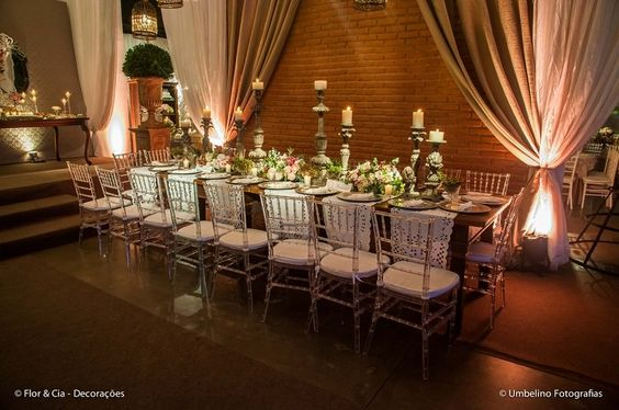 Vem ver que inspiradora essa decoração de casamento rosa e romântica, executada pela nossa parceira Flor e Cia. Imperdível, acesse agora mesmo o Blog: