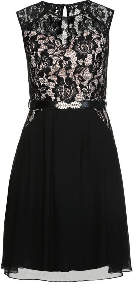 Pin for Later: No Party Season Is Complete Without a Little Black Party Dress  Little Mistress Cocktail Dress (£65)