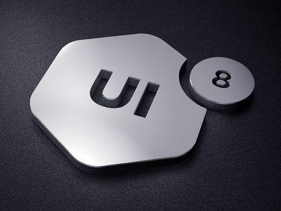 UI8 Logo Mount #logo #design #inspiration