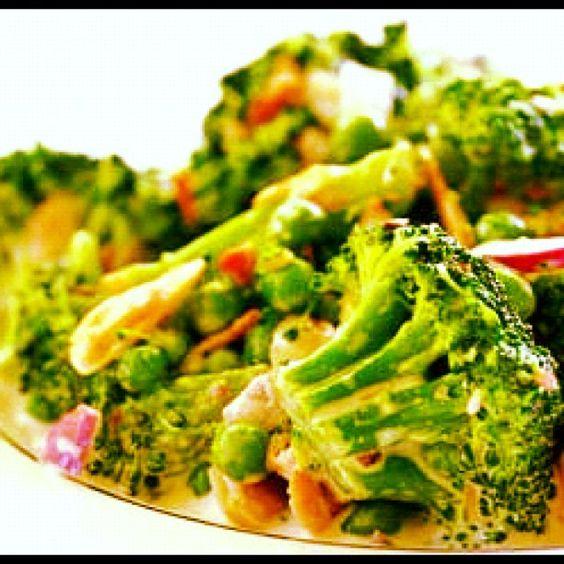 brokoli salatası!