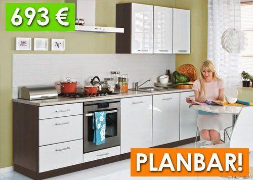 Kuchenzeile Mit Elektrogeraten Billig Frisch Guenstige Einbaukueche Weiss Hochglanz Kueche Guenstig Tapo Einbaukuche Kuche Umbauen Kuche