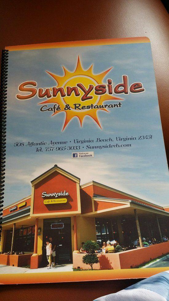 Sunnyside Cafe Restaurant Virginia Beach Menu Prices