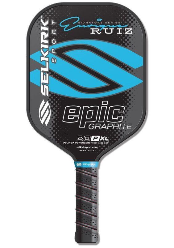 Selkirk Sport 30P XL Enrique Signature Epic Polymer Graphite Paddle