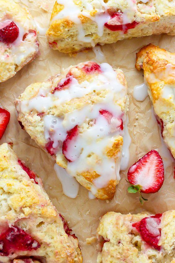 ... Cream Scones   Recipe   Cream Scones, Strawberries And Cream and