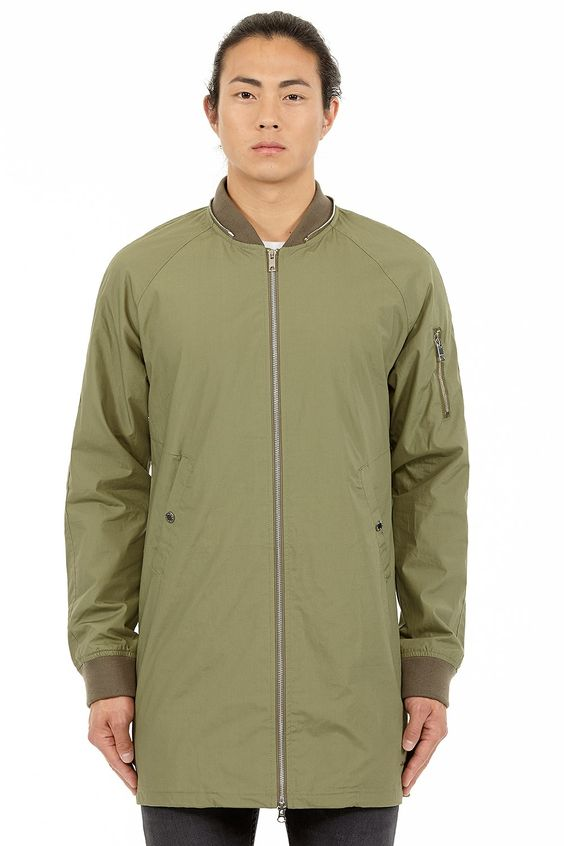 Elvine Chris Jacket Army Green - Elvine Shop