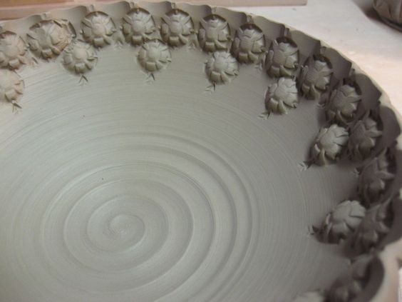 bowl G stamped detail