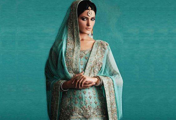 Pakistani Bridal Couture by http://FarazManan.com/ Lahore